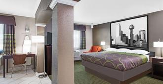 Super 8 By Wyndham Bedford Dfw Airport West - Bedford - Bedroom