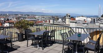 Hotel Bel'Esperance - ג'נבה - מרפסת