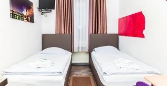 City Pension Storch II - Köln - Schlafzimmer