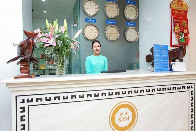 Kim Saigon Hotel - Ho Chi Minh City - Front desk