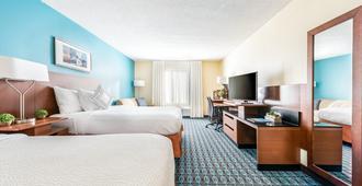 Fairfield Inn by Marriott Charlotte Northlake - Charlotte - Bedroom