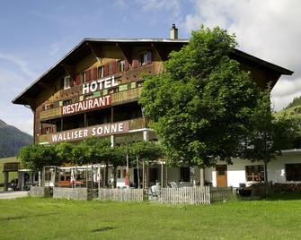 Hotel Restaurant Walliser Sonne - Goms - Gebäude