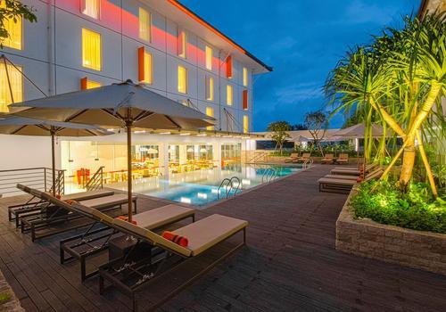 Harris Hotel And Conventions Denpasar Bali 1 185 1 6 9 9 Denpasar Hotel Deals Reviews Kayak