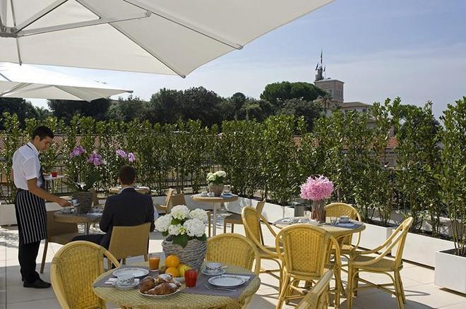 佩特利斯酒店 - 羅馬 - 羅馬 - 餐廳