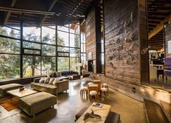 Design Suites Bariloche - San Carlos de Bariloche - Σαλόνι