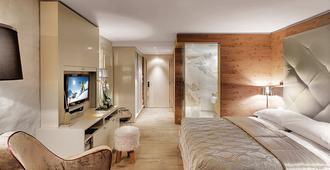 جياردينو ماونتين - سانت موريتز - غرفة نوم