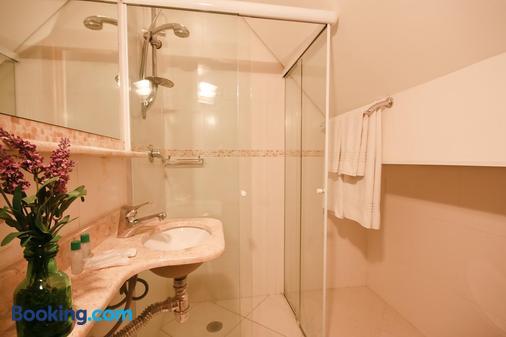 Pousada Campos dos Holandeses - Campos do Jordão - Phòng tắm