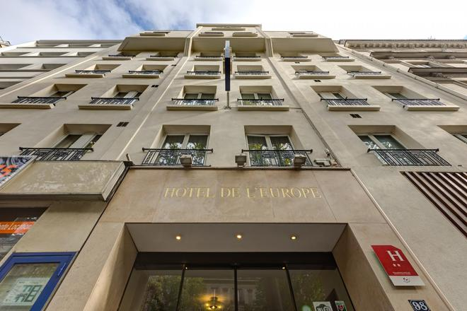 Hotel de l'Europe Belleville - Paris - Building