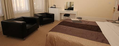 The Courtlands Hotel - Hove - Schlafzimmer