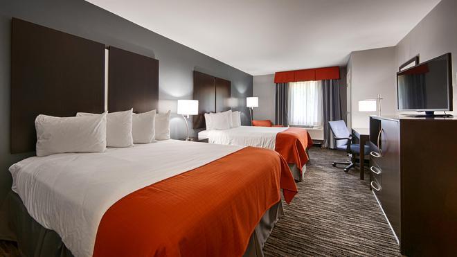 Best Western University Inn at Valparaiso - Valparaiso - Schlafzimmer