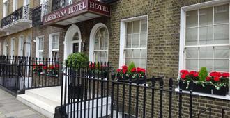 Americana Hotel - Londres - Vista del exterior