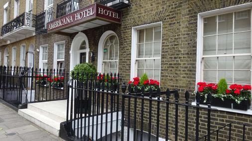 亞美利加飯店 - 倫敦 - 建築