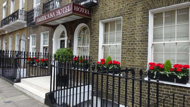 Americana Hotel - Лондон - Здание