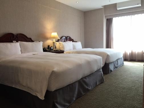 Royal Seasons Hotel Taichung Zhongkang - Taichung - Bedroom