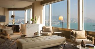 Renaissance Hong Kong Harbour View Hotel - Hong Kong - Living room