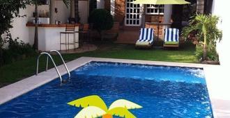 Hotel Quinta Real Las Palmas Malinalco - Malinalco - Piscina