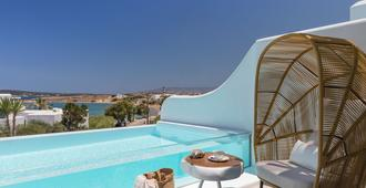 Lilly Residence-Sea View Suites, Adults Only - Naousa - Pool