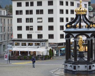 Hotel Sonne - Einsiedeln - Gebouw