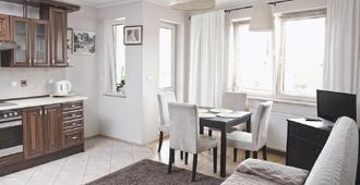 Apartamenty Trzy Wieze - Warsaw - Phòng ăn