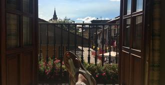 Hostal Santa Maria - Cacabelos - Balcony