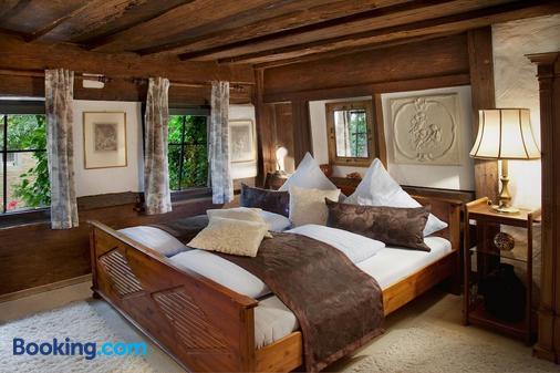 Hotel Altfränkische Weinstube - Rothenburg ob der Tauber - Bedroom