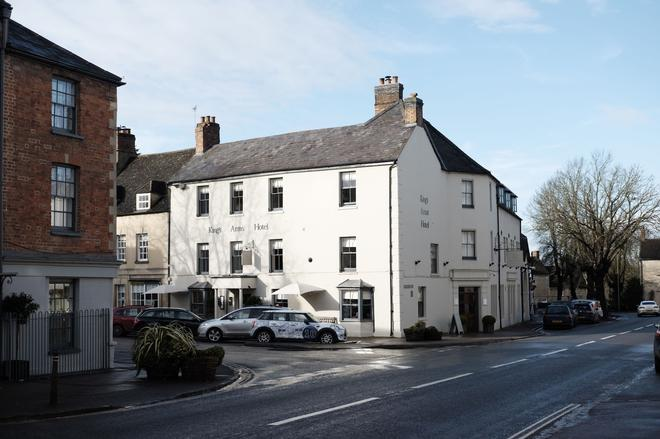 Kings Arms Hotel - Oxford - Building