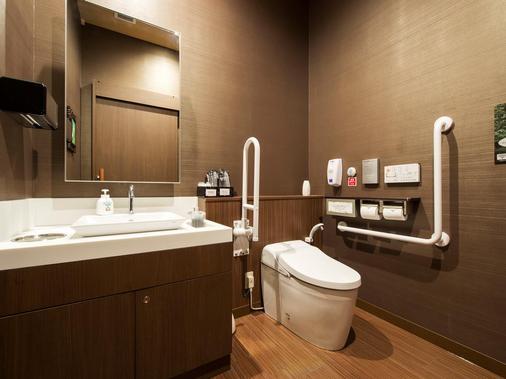 Capsule Hotel Anshin Oyado Premier Tokyo Shinjuku Station - Tokio - Kylpyhuone