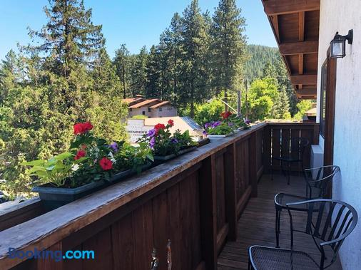 Hotel Pension Anna - Leavenworth - Balcony