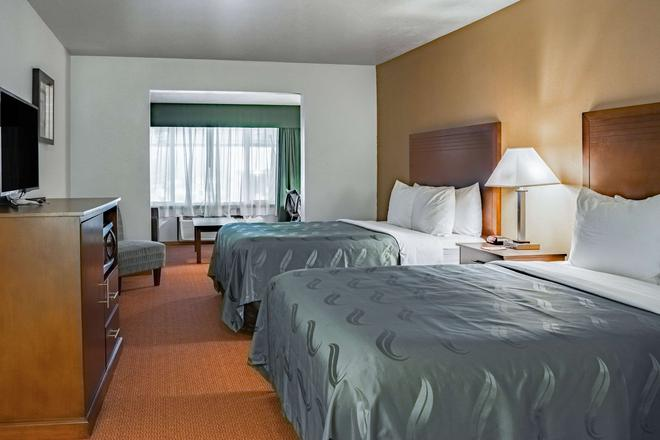 Quality Inn and Suites Vancouver north - Vancouver - Makuuhuone