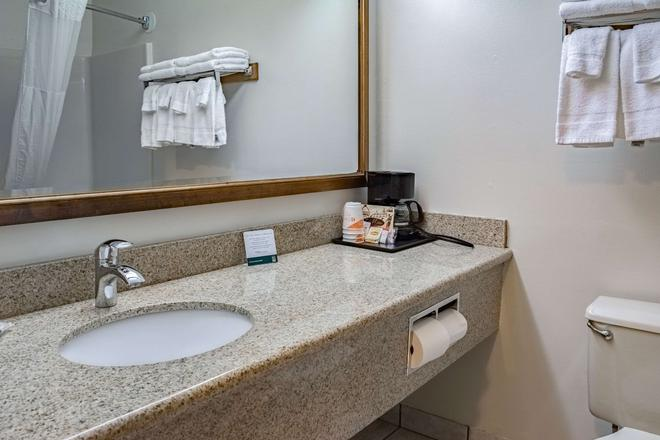 Quality Inn and Suites Vancouver north - Vancouver - Kylpyhuone