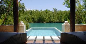 費爾蒙悅榕莊里維埃拉瑪雅 - 式 - 卡曼海灘 - 普拉亞卡門 - 游泳池
