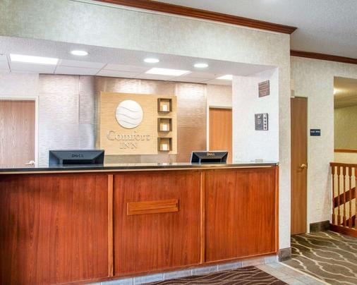 Comfort Inn North - Air Force Academy Area - Colorado Springs - Front desk
