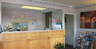 Economy Inn Watsonville - Watsonville - Front desk