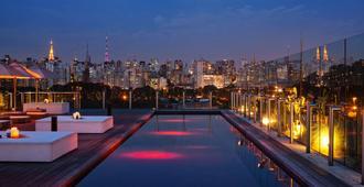 هوتل يونيك - ساو باولو - حوض السباحة
