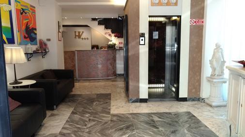 Hotel Victoria - Florenz - Rezeption