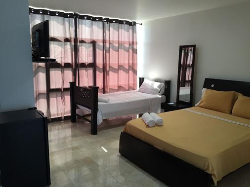 Hostal Central Beach - San Andrés - Makuuhuone