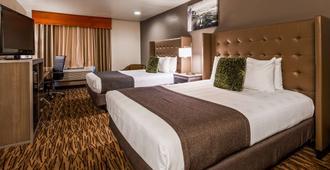 普拉斯胡椒樹機場貝斯特韋斯特酒店 - 斯波坎 - 斯波坎 - 臥室