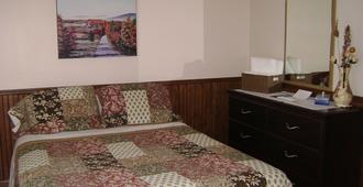 Hotel Sous La Croix - Tadoussac - Schlafzimmer