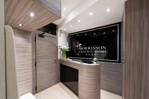 Morrisson Hotel - Rooma - Vastaanotto