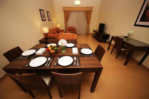 Tulip Hotel Apartment - Dubai - Ruokailuhuone