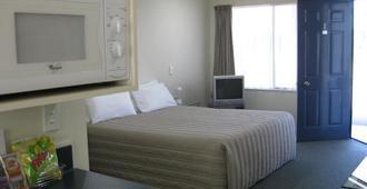 Asure Cooks Gardens Motor Lodge - Whanganui - Bedroom