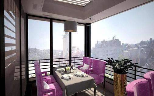 Grand Hotel Lviv Luxury & Spa - Lviv - Balcony