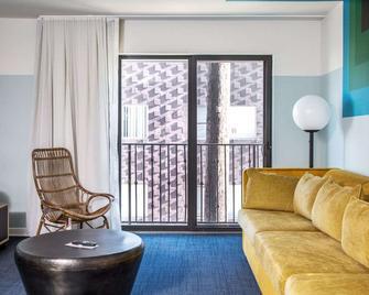 هوتل إروين - لوس أنجلوس - غرفة معيشة