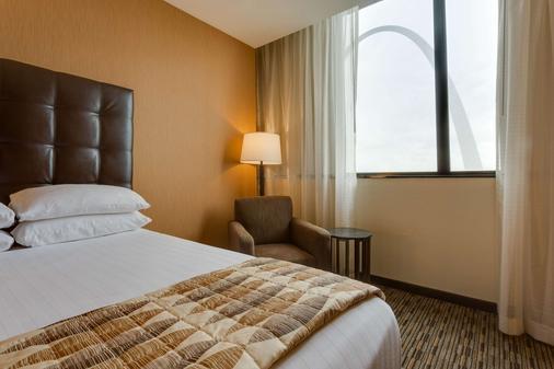 聖路易斯拱門德魯瑞廣場酒店 - 聖路易 - 聖路易斯 - 臥室