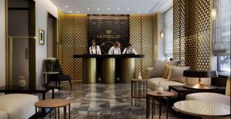 Hotel D Geneva - Geneva - Front desk