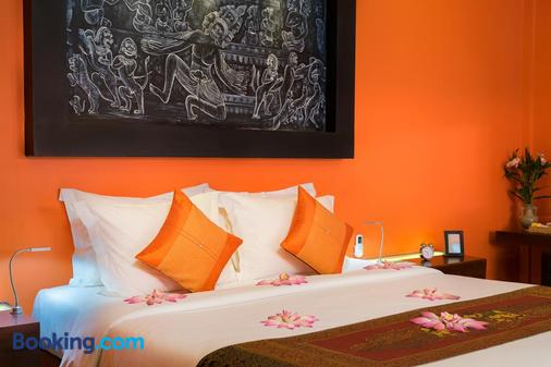Golden Temple Hotel - Siem Reap - Bedroom