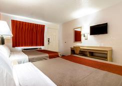 Motel 6 Anaheim Fullerton East - Anaheim - Bedroom