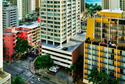 Aqua Pacific Monarch - Χονολουλού - Κτίριο