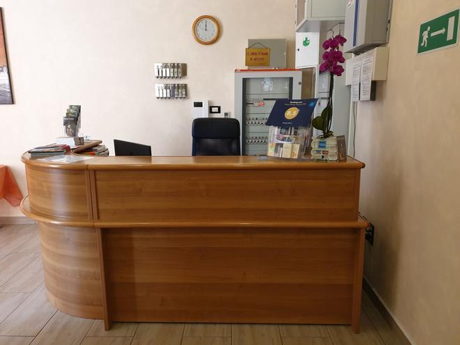 Hotel Ricci - Genova - Vastaanotto