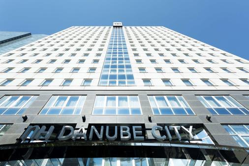 NH Danube City - Wien - Rakennus